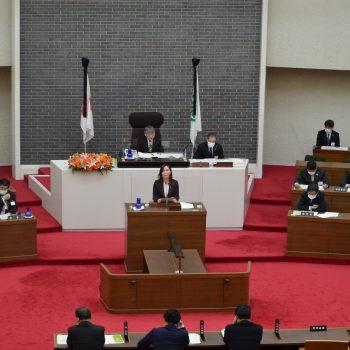 令和3年第5回岐阜県議会定例会のご報告