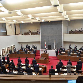 令和3年第5回岐阜県議会定例会開会